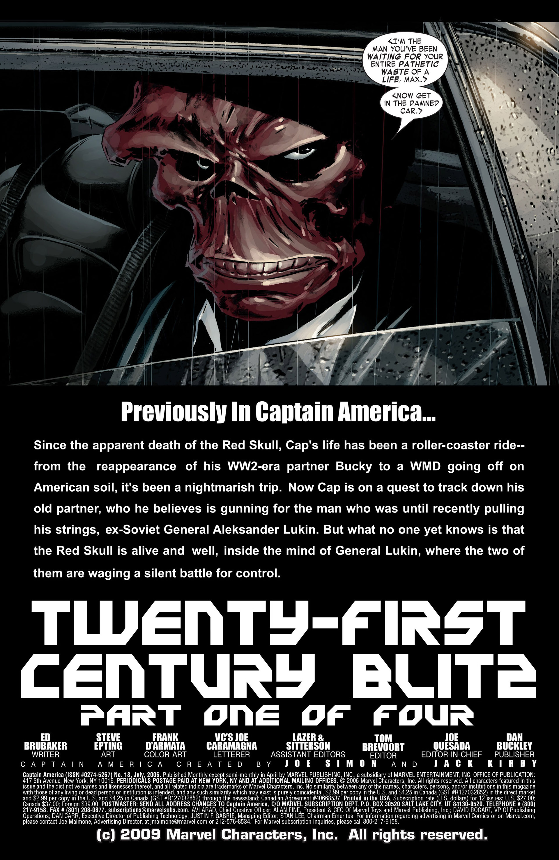 Captain America (2005) Issue #18 #18 - English 5