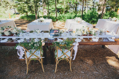 Rustic wedding reception l Gatekeeper's Museum Tahoe l Sun + Life Photo l Johnny B Video l Take the Cake Event Planning
