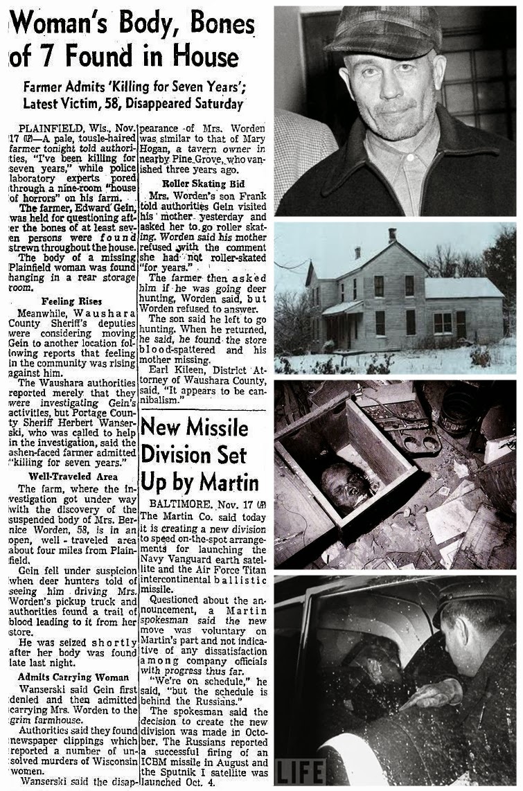 the unusual life of a serial killer edward gein Ed gein  more  the young life of breck bednar was horribly ended by scheming manipulative sadistic killer lewis daynes subscribe to crime + investigation.