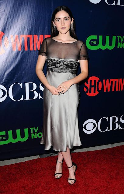 Actress @ Isabelle Fuhrman - Showtime, CBS & The CW's TCA Summer Press Tour party in LA