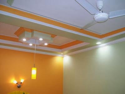 Desain plafon gypsum minimalis modern contoh disain rumah minimalis