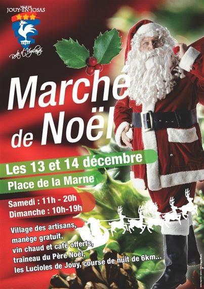 Des Massages au Marche de Noël Jouy-enJosas