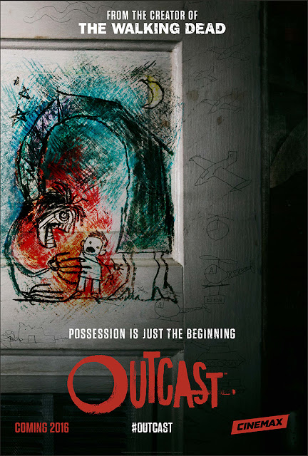 San Diego Comic-Con 2015 First Look - Outcast by Kirkman & Azaceta Teaser One Sheet Television Poster