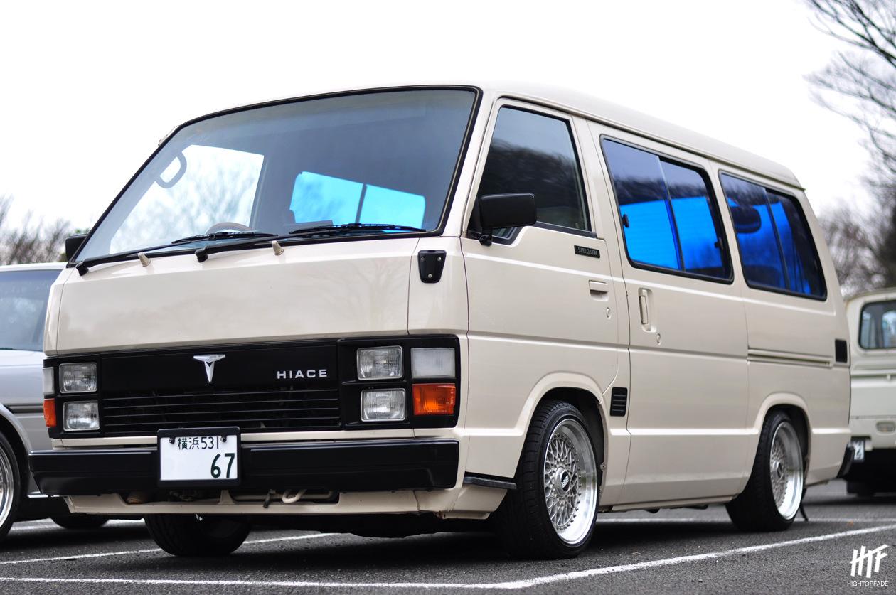 Toyota Hiace III, japoński bus, van, ciekawe stare samochody