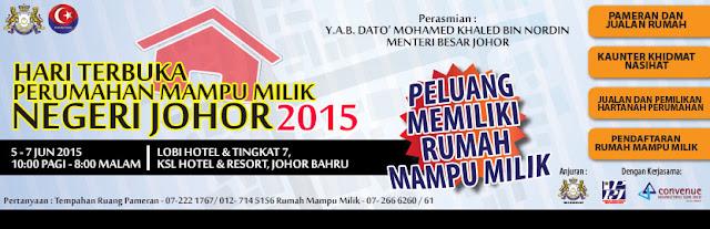 Perumahan Mampu Milik Negeri Johor 2015