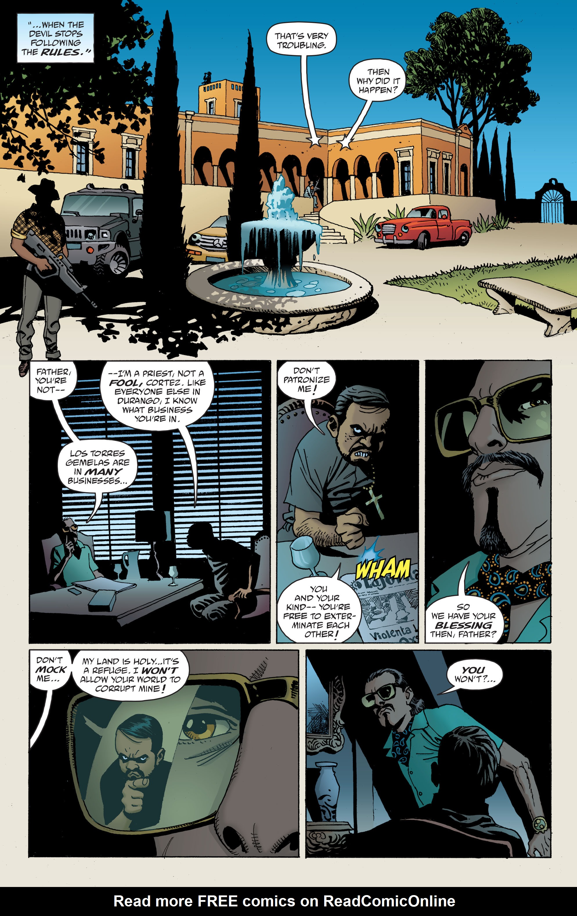 100 Bullets: Brother Lono Full Page 66
