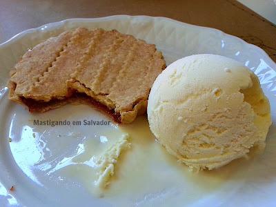 Pasta em Casa: Crostata de Goiabada com Sorvete