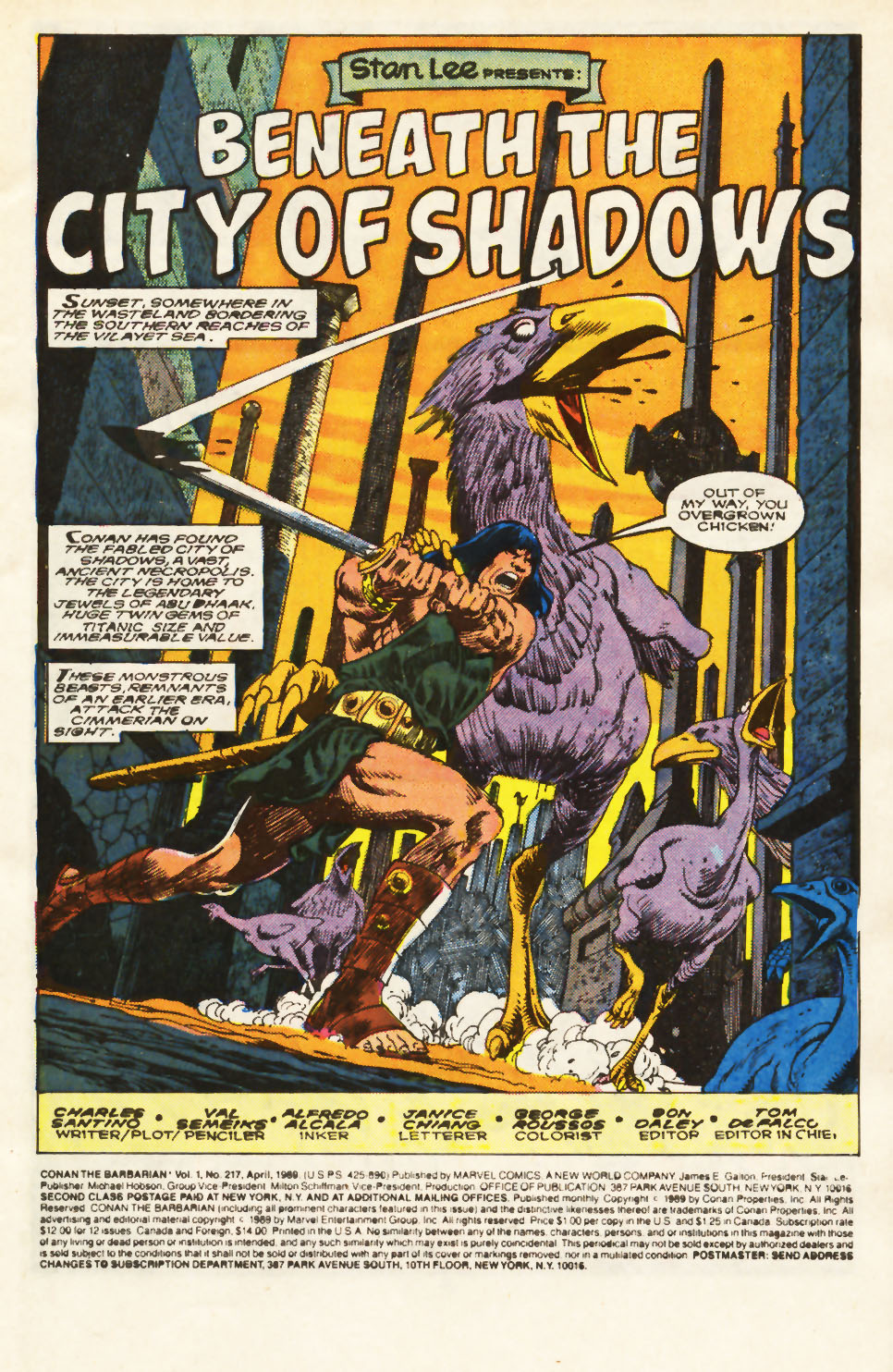 Conan the Barbarian (1970) Issue #217 #229 - English 2