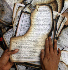 The Holy Qur'an bunrt by BNP JAMAT