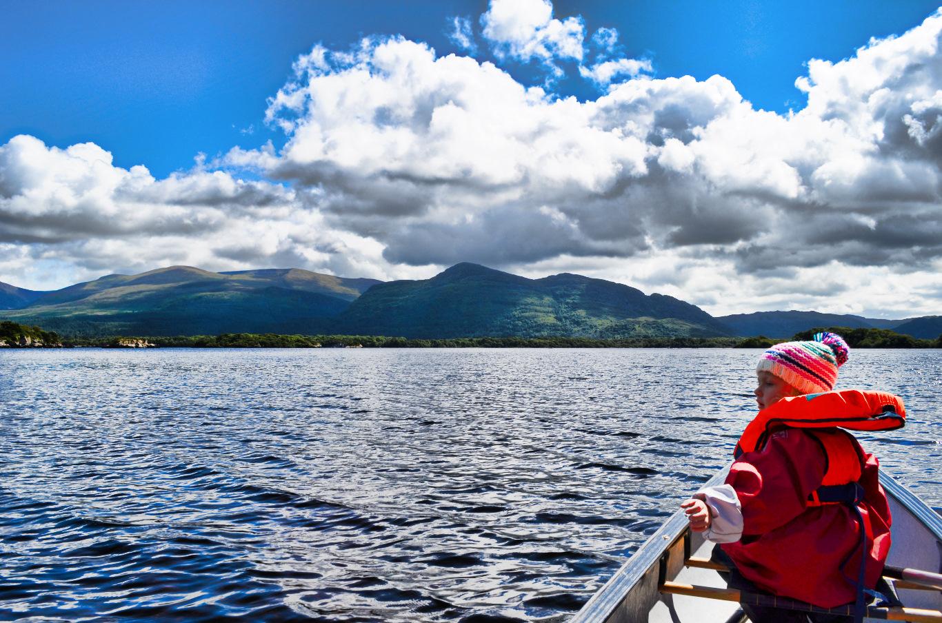Kayaking in Killarney National Park