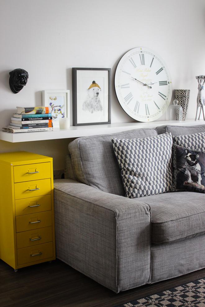 Ikea Grey Sofa, Home Inspiration