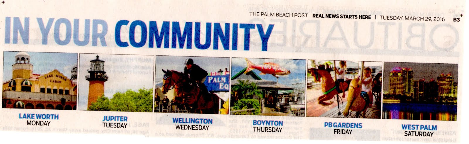 "Palm Beach Post about ""YOUR"" community? Why merely focus on LDub & 5 other cities?"