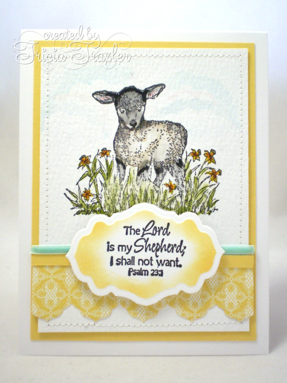 Stamps - Our Daily Bread Designs The Shepherd, ODBD Custom Antique Labels and Border Dies