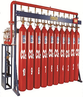 Hệ thống chữa cháy tự động khí CO2 bằng tay