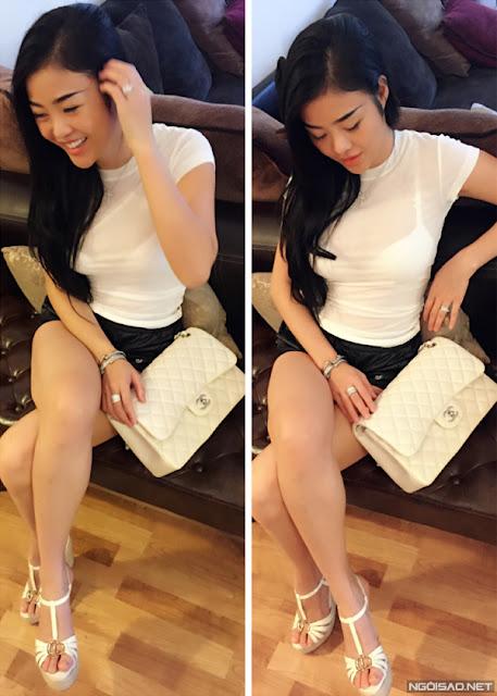 Tủ đồ hiệu khủng của cô nàng 9X Việt