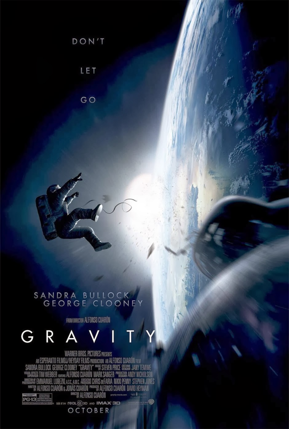 Gravity 2013 Movie Poster