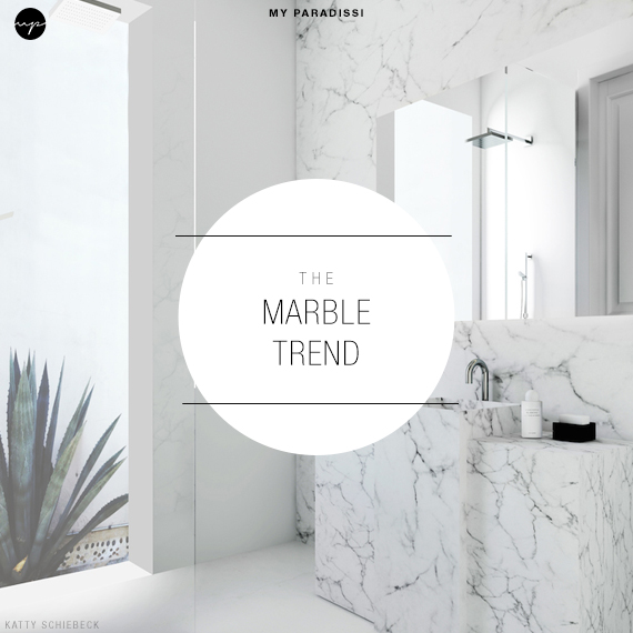 The Marble Trend | Image via Katty Shiebeck via Est Magazine