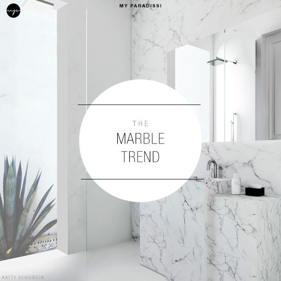 The Marble Trend | Image via Katty Shiebeck via Est Magazine