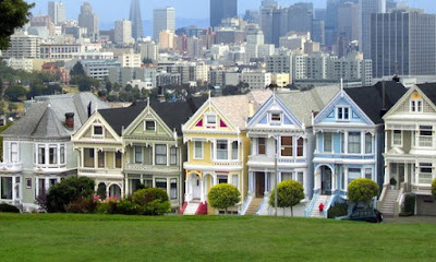Casas victorianas San Francisco California