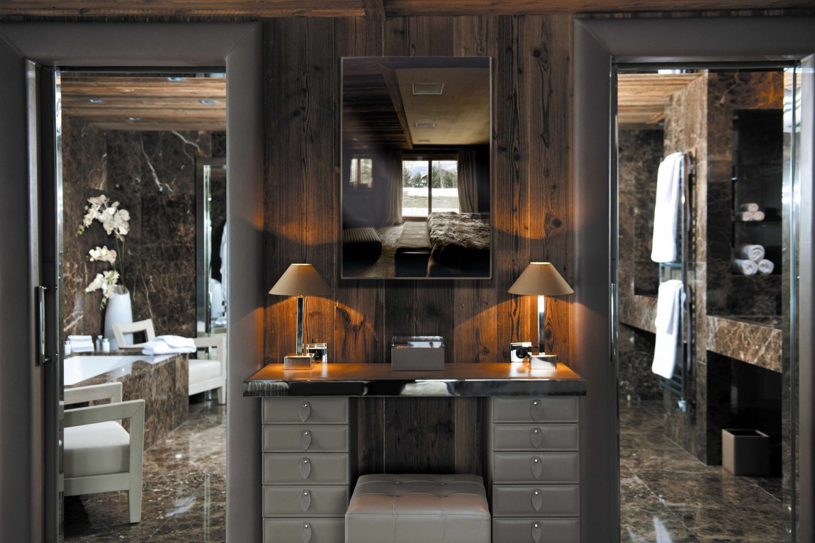 Elledueo Chalet Design Holiday Of Extreme Luxury In Megeve