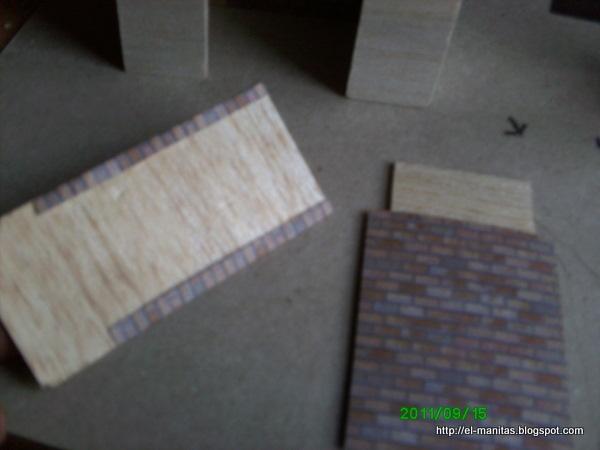 El mundo de las manualidades y la artesanía: tutorial de chimenea ...