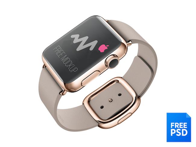 Mockups gratis iPhone 6, iPhone 6 Plus y Apple Watch