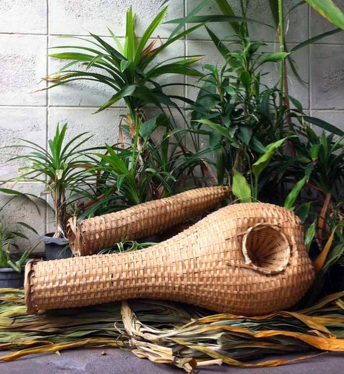 Vintage/Antique Native S. Thailand Hand-Made Fish Trap