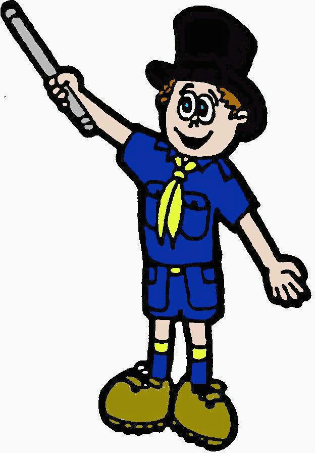 It is a picture of Smart Cub Scout Graphics