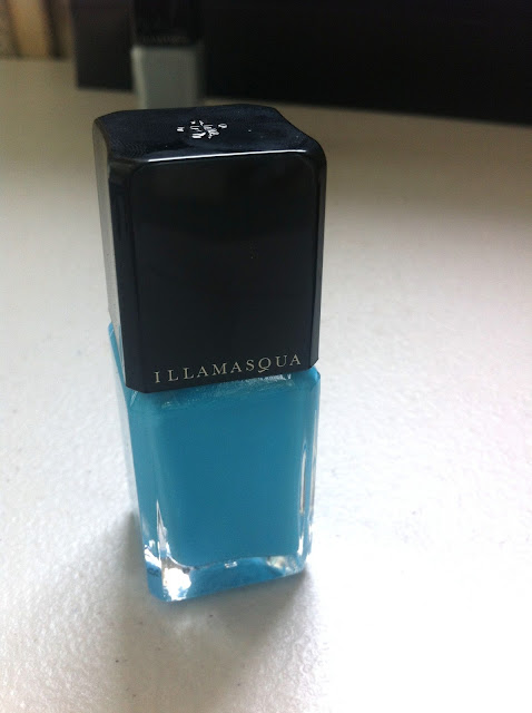 illamasqua, rubber brights, collection, serenity, nailpolish, aqua, blue, colour, pretty