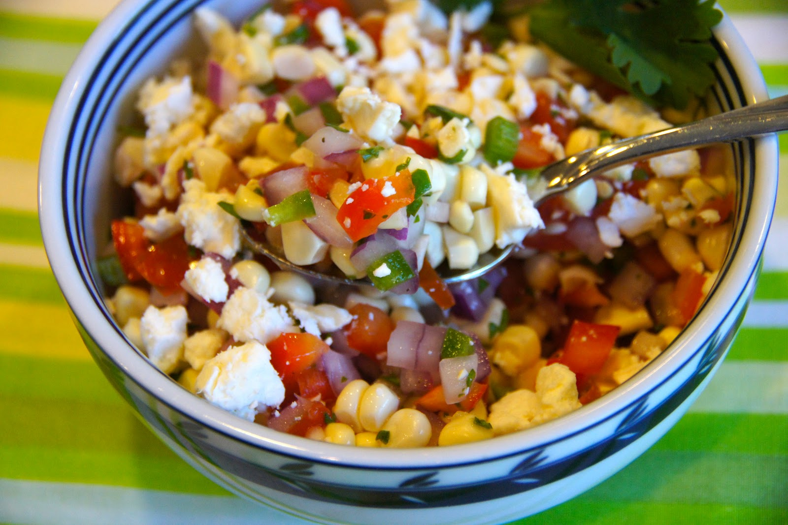 Family Food Finds: Fresh Sweet Corn and Tomato Salad