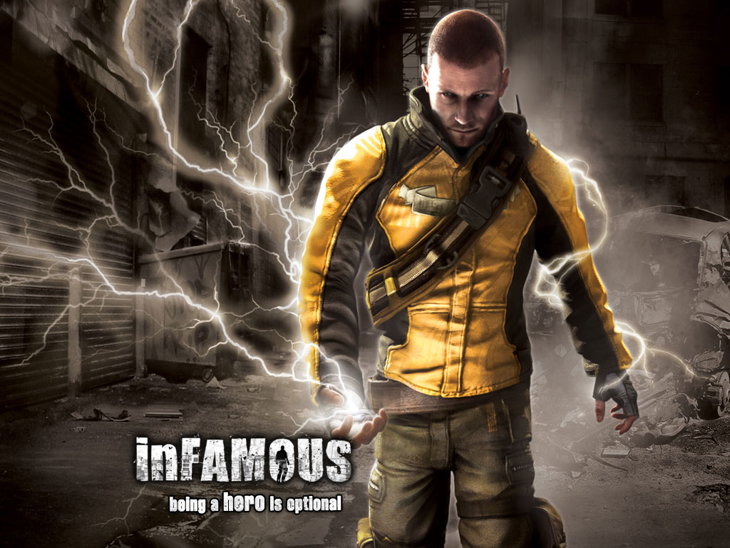 Wallpaper inFamous | Wallpaper HD