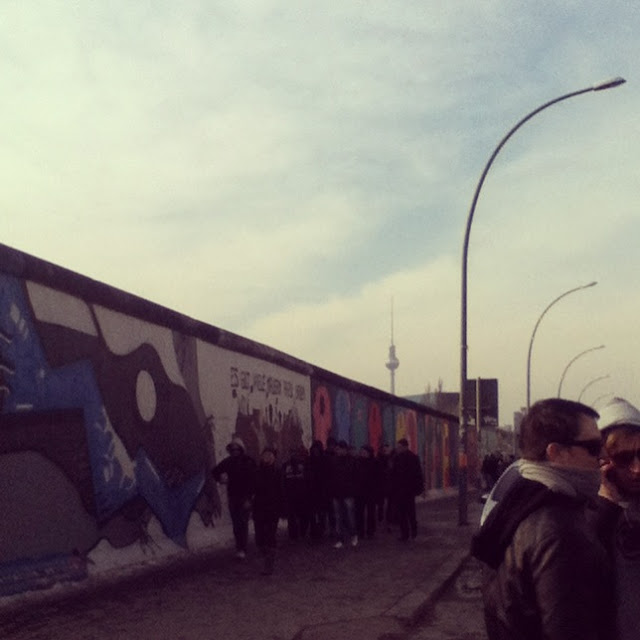 ESG Fernsehturm Graffiti