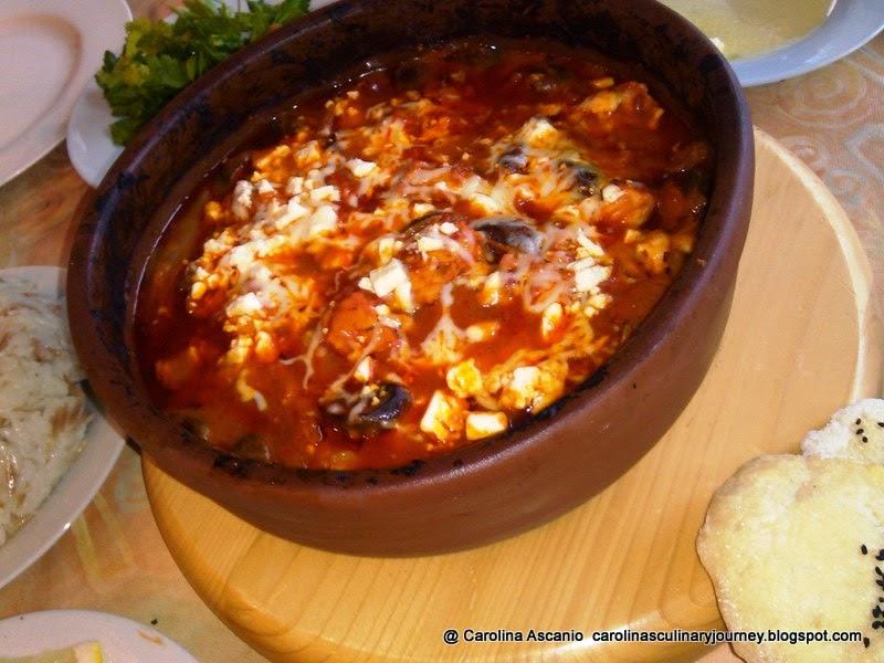 Carolina's Culinary Journey: Chicken Tava - Tavuk Tava (Turkey)