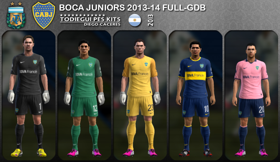 Boca Juniors 2013-14 (Update: 26/07/13)