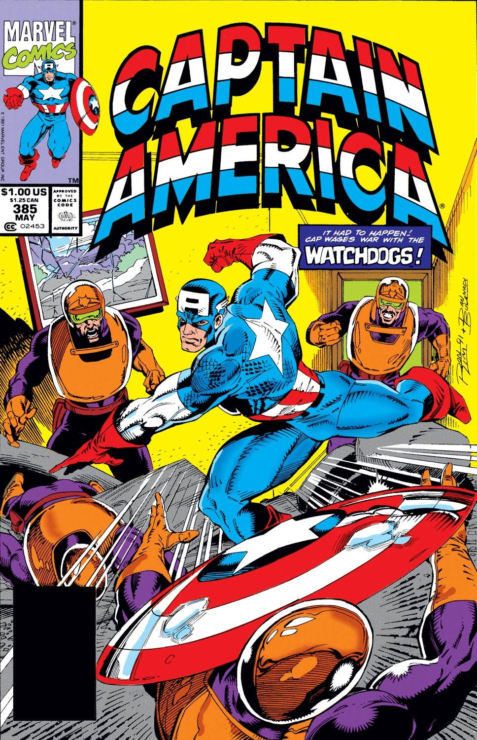 Captain America (1968) Issue #385 #318 - English 1