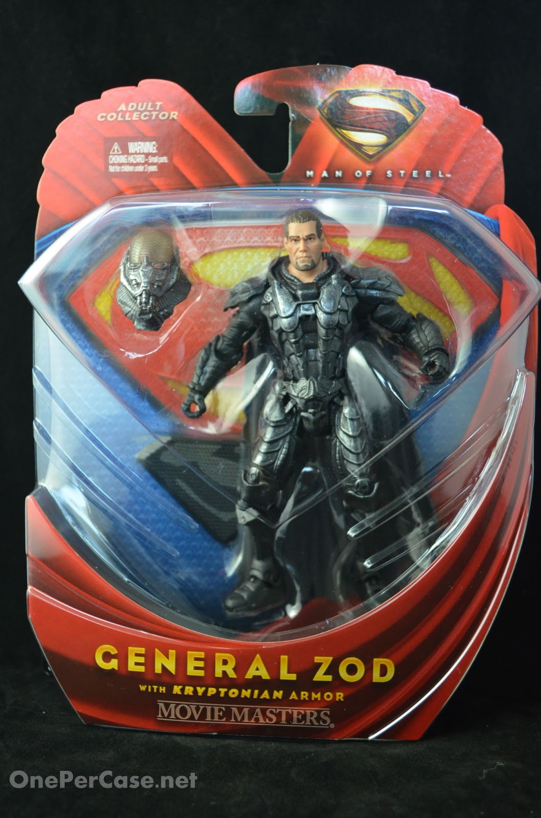 One Per Case Man Of Steel Movie Masters General Zod With