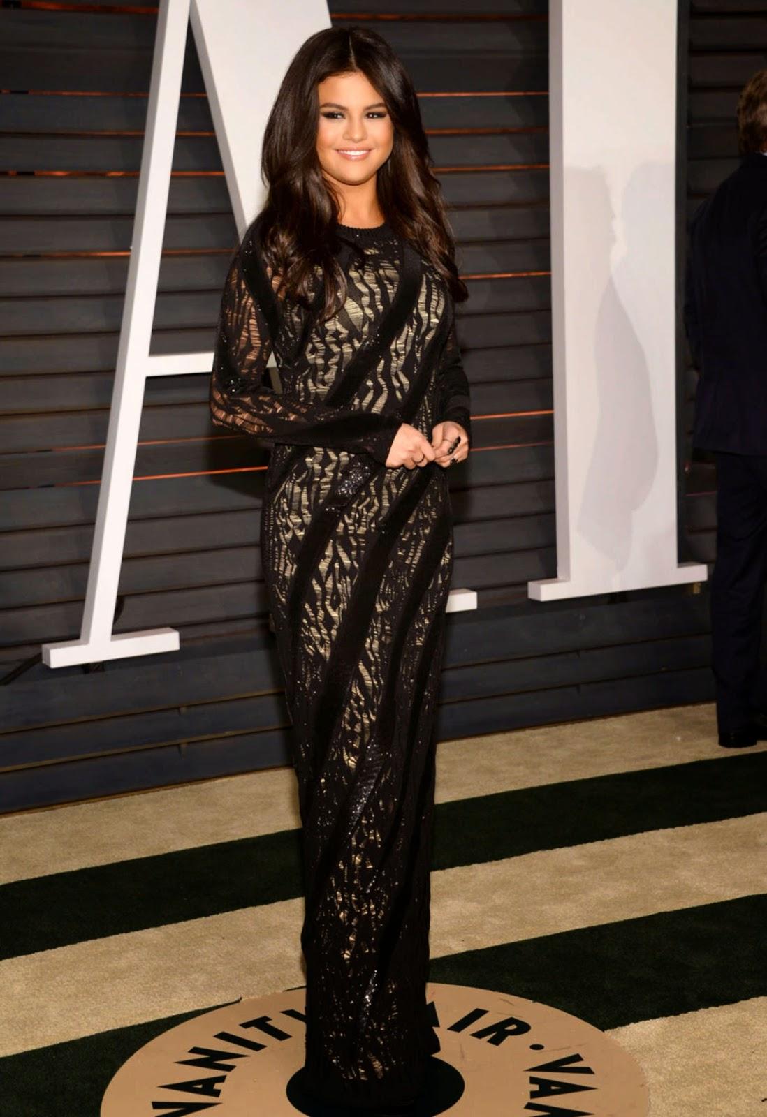 Selena Gomez – 2015 Vanity Fair Oscar Party in Hollywood