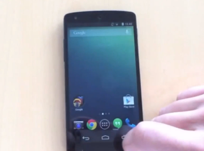Video filtrado del Nexus 5