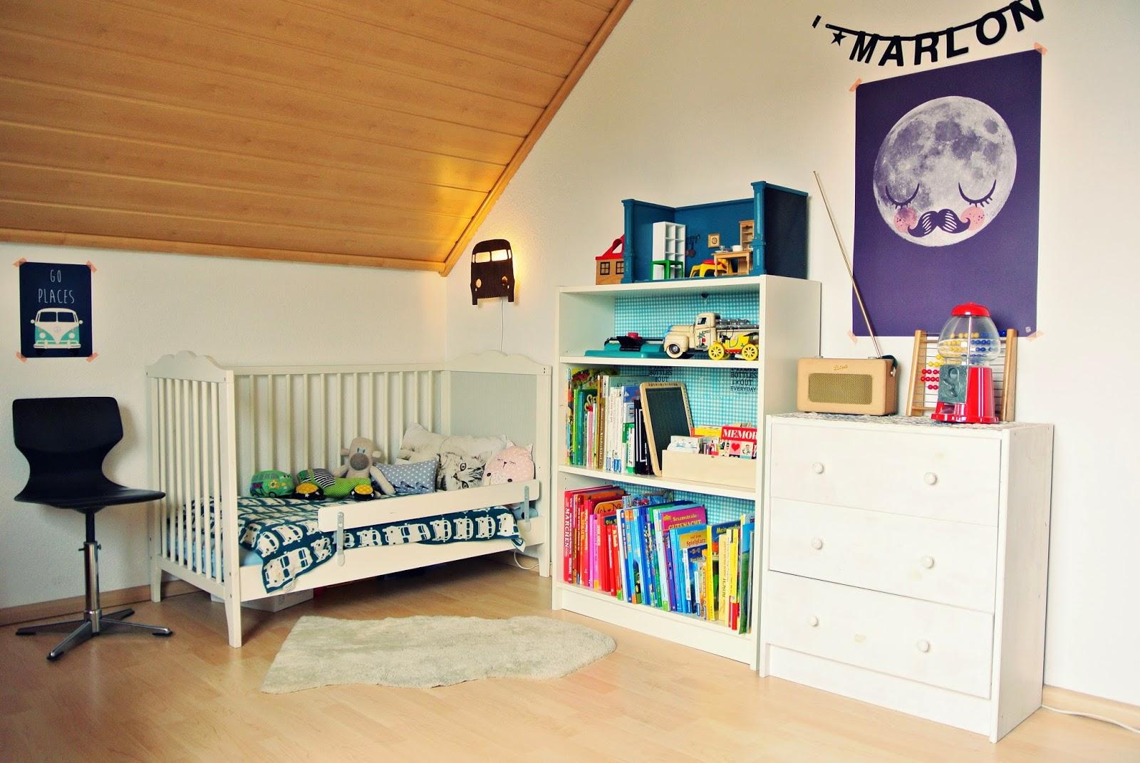 AdamsEva: Marlons Zimmer oder wie das Kinderzimmer sonst ...