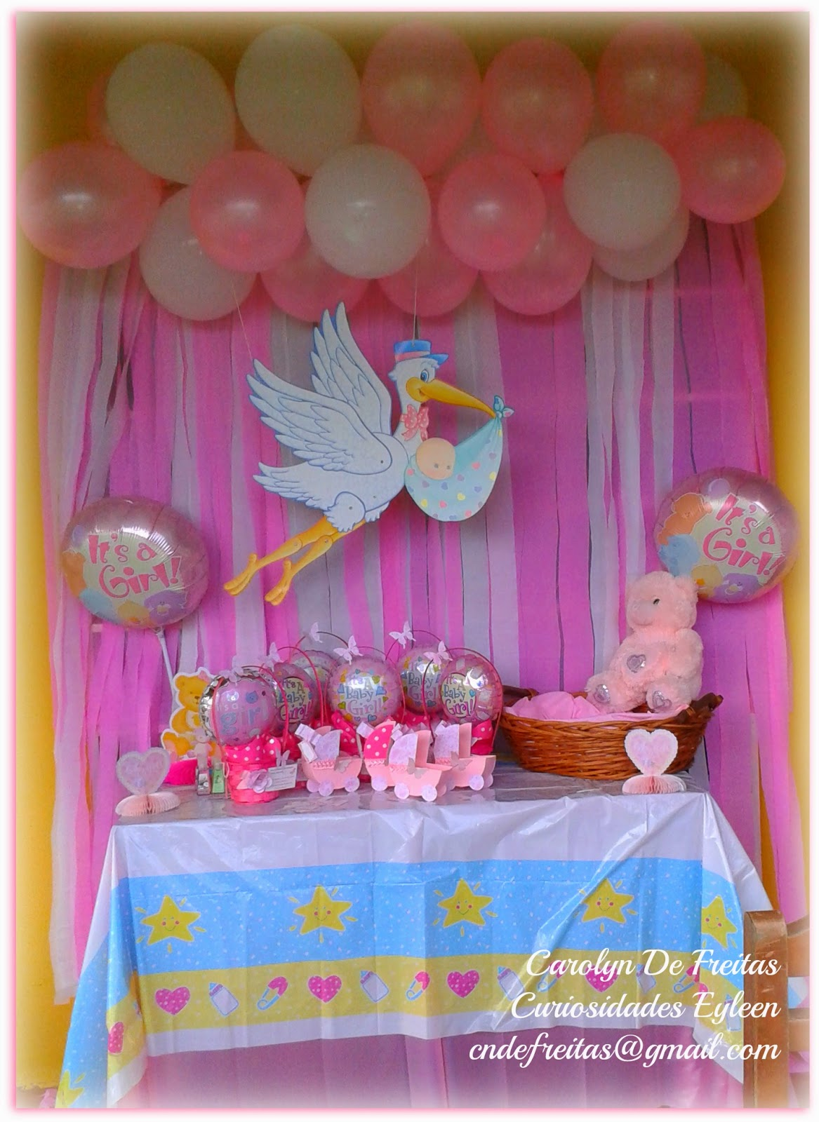 Arreglos para baby shower for Decoracion para pared de baby shower