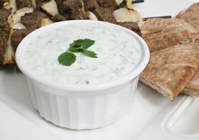 Yogurt Mint Sauce Recipe - How to Make Yogurt Mint Sauce ...