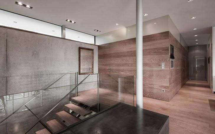 Interior of Modern Haus SK in Austria