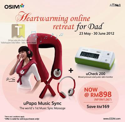 OSIM Online Retreat for Dad 2012