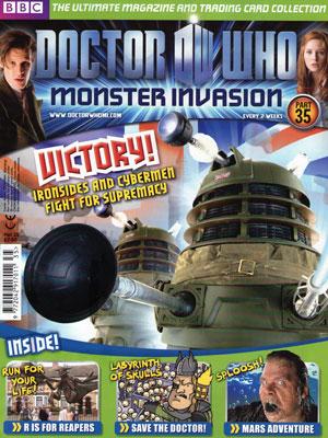 Doctor Who Monster Invasion Magazine