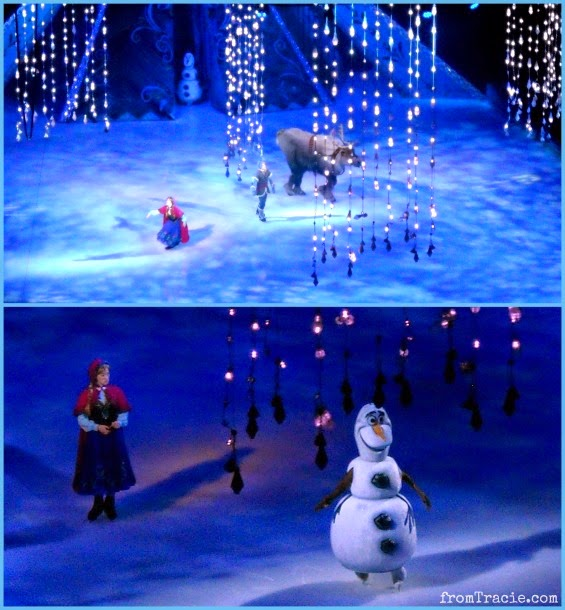 Olaf Frozen On Ice