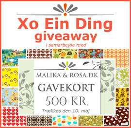 Give away hos Xo ein ding