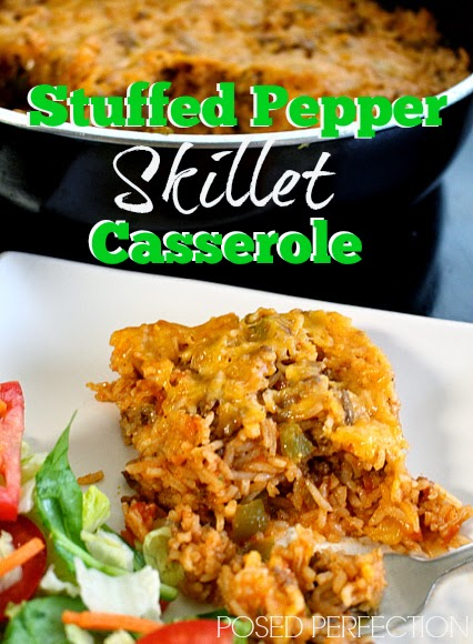 Stuffed Pepper Skillet Casserole