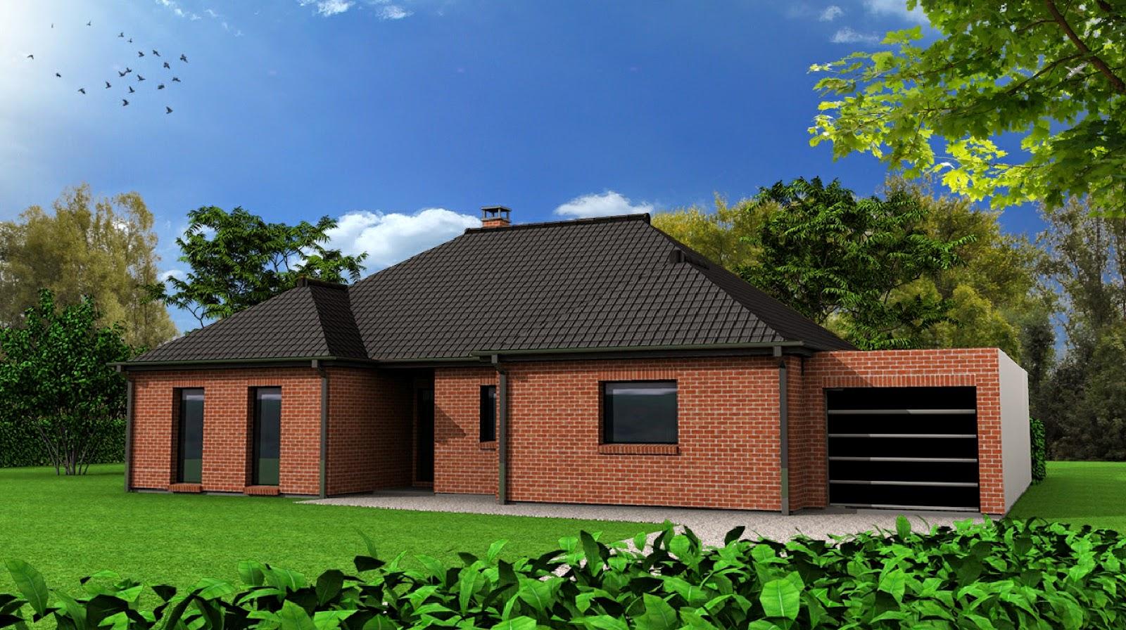 Maison-Familiale LILLE: ALLENNES LES MARAIS - Plain Pied - 132 m²
