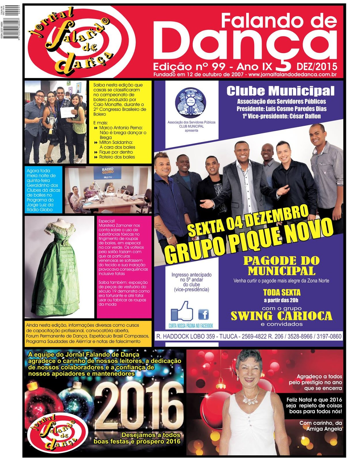 Leia on line a ed 99 (Dezembro/2015)