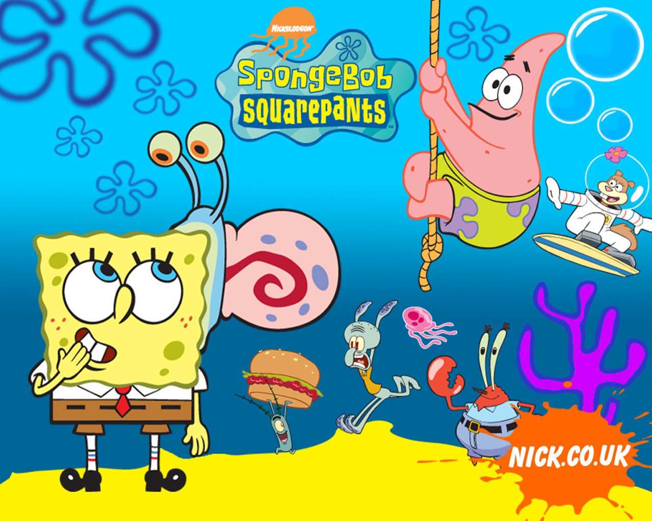 spongebob spongebob spongebob squarepants